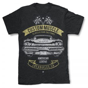 Custom Muscle T-Shirt