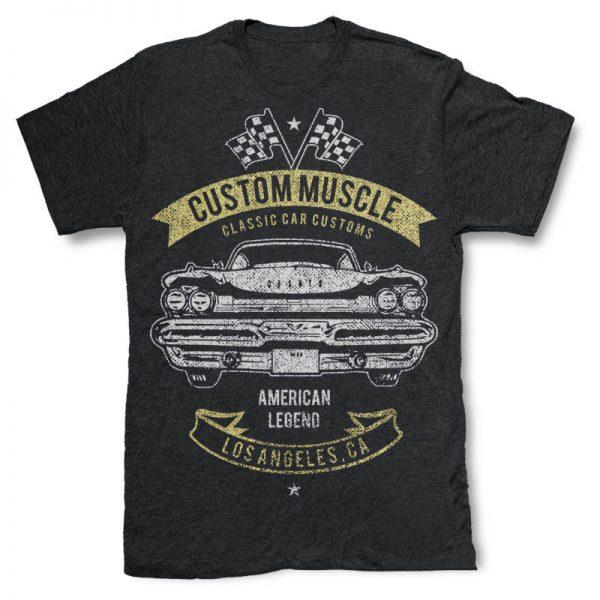 Custom Muscle T-Shirt