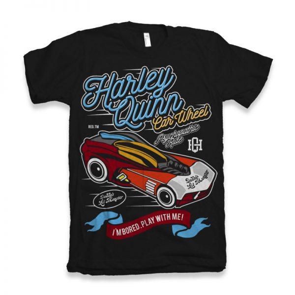 Harley Quinn Car Wheel