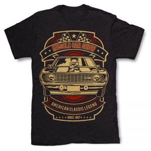 Muscle Car Show T-shirt