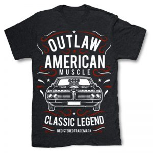 Outlaw American Muscle T-shirt