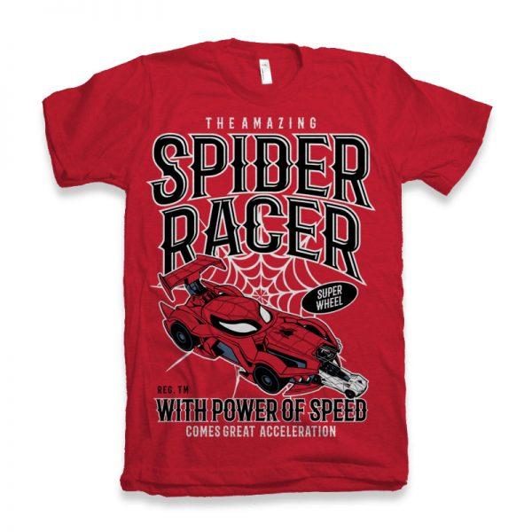 Spider-Racer-T-shirt