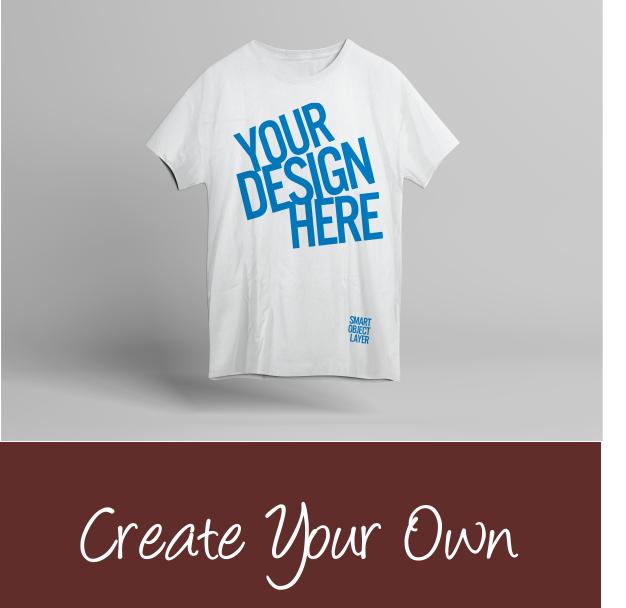 T shirt design banner